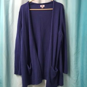 2XL | Old Navy Blue Oversized Cardigan | Plus Size